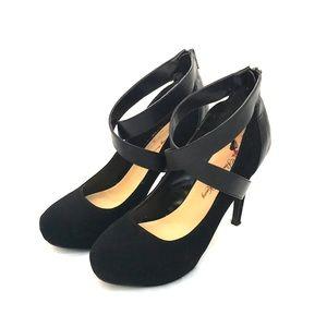 Black Mary Jane Stilettos